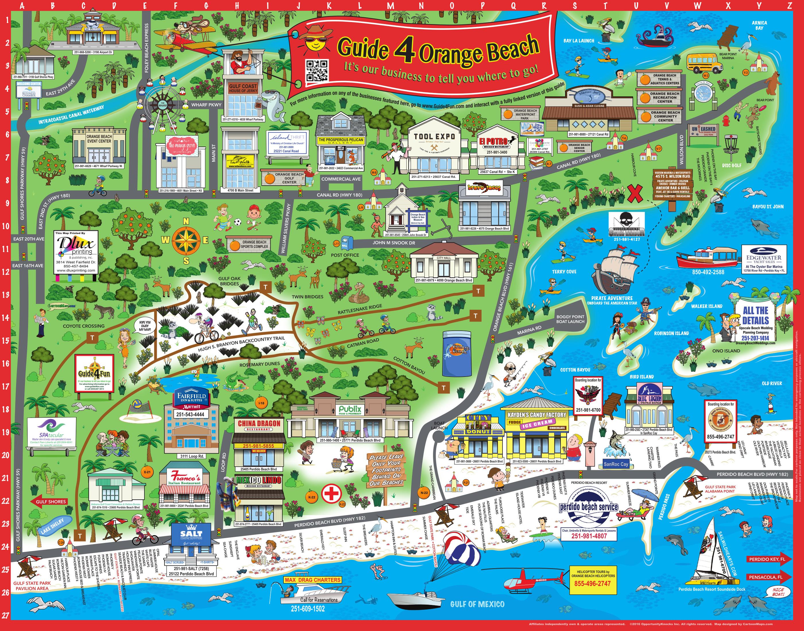 Sugar Beach Florida Map
